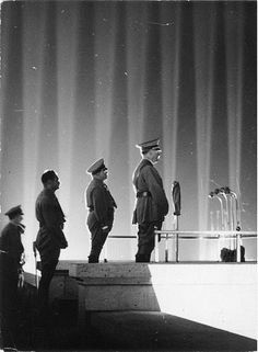 The Cathedral of Light was published and documented in the Nazi propaganda film Festive Nuremberg, in 1937.