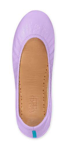 Lavender Patent Tieks. #tieks