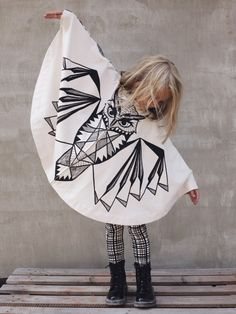 Huhuu cape! A zero waste costume! http://sewobsessed.offsetwarehouse.com/2014/08/17/the-zero-waste-t-shirt/