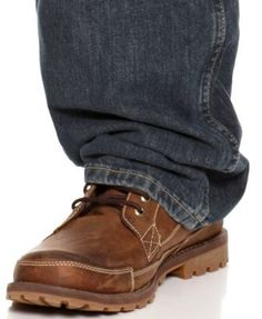 Nautica Big and Tall Men's Jeans, Relaxed-Fit Jeans - Brown 44x36