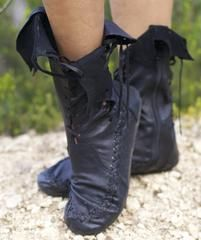 Gipsy Dharma Black Ankle Boots