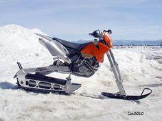 #snowbike