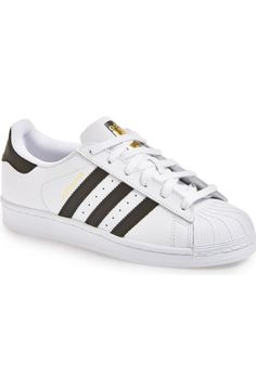 Pin for Later: 15 Adidas Items You'll Find in Every It Girl's Wardrobe A Nostalgic Pair of Superstar Sneakers Adidas Superstar Sneaker ($80)