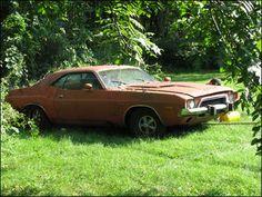 1972 Dodge Challenger. #barnfinds