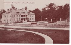 Administration Building, Soldiers Home, Danville, Ills.