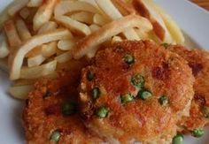 Sýrové karbanátky (nejen) s hráškem Meat, Chicken, Food, Essen, Meals, Yemek, Eten, Cubs
