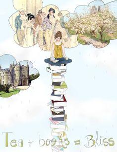 Abigail Cecile: I ♥ tea and books