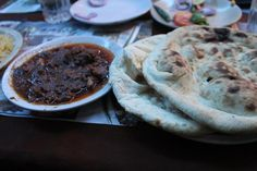 Mutton chaap and Tandori roti.. A mughlai speciality (Arsalaan, Calcutta)