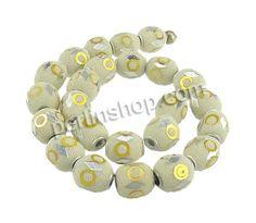 Indonesien Perlen, mit Glas-Rocailles & Zinklegierung, plattiert, mit Strass & gemischt, frei von Nickel, Blei & Kadmium, 17-32x13-15mm, Boh...