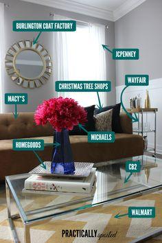 The Ultimate Furniture & Housewares Store List - practicallyspoiled.com
