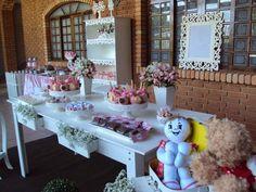 Fofurinhas da Manú: Aniversário Chá de Bonecas