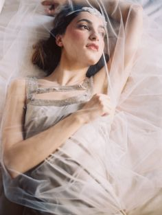 Enchanted Atelier by Liv Hart 2015 Collection - wedding veils and headpieces | Laura Gordon Photography | see more on:  http://burnettsboards.com/2014/03/enchanting-elegance-liv-hart/