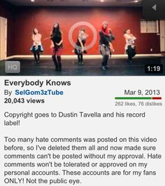 Haterz are going to hate... But at least now #everybodyknows ;) Such a sick #anthem!