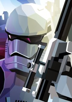 First Order Stormtrooper by Liam Brazier