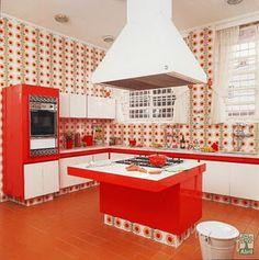 cozinha dos anos 70, tudo de bom