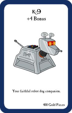 Munchkin Custom Cards Project #1: Doctor Who!   My Life as a Geek
