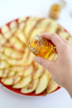 Apple Nachos - Fit Foodie Finds