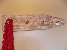 Another vintage ironing board for your laundry room, bathroom or mudroom.  Available at Chic Antiques