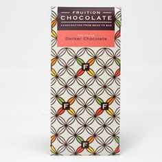 Fruition Chocolate's delicious Dark Chocolate - 70% bar. Made in Shokan, NY.