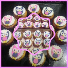 cupcake uiltjes / cupcake owls