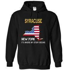 (Deal Tshirt 3hour) SYRACUSE Its Where My Story Begins at Tshirt Family Hoodies, Funny Tee Shirts