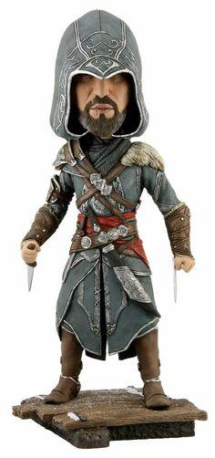 Figurine Assassin's Creed Revelations Ezio Headknokers #Logostore