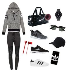 """""""gym day"""" by chlobug77 on Polyvore featuring Ragdoll, NIKE, adidas Originals, Keds, adidas and The Horse"""