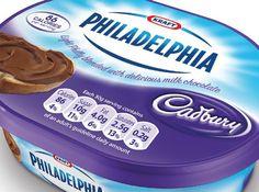 Philadelphia with Cadbury inspires Tesco own label