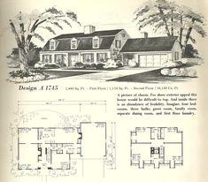 1000 images about dutch colonial on pinterest dutch for Antique colonial house plans