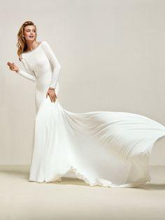 Robe de mariée sirène élégante
