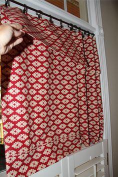 No Sew pillowcase Curtain 2
