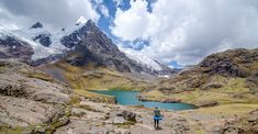 Ausangate Peak. Perú. Mountain of the Andes.