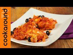 Baccalà con le cipolle / Ricetta stoccafisso in umido - YouTube