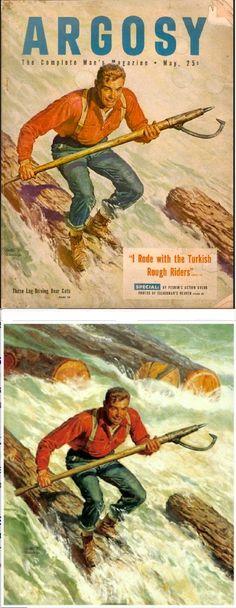 WALTER MARTIN BAUMHOFER - May 1952 Argosy magazine