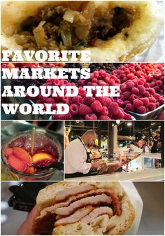 Food is a huge part of my trips and visiting local markets when I travel is one of my favorite things to do. I wrote a blog post sharing some of my favorite markets around the world from Pike Place in Seattle, La Boqueria in Barcelona to Queen Victoria Market in Melbourne and more || http://www.rtwgirl.com/favorite-markets-around-the-world/