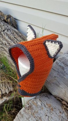 Check out this item in my Etsy shop https://www.etsy.com/listing/474650789/baby-toddler-size-fox-hood-winter-fall