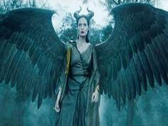 angelina jolie malificent with wings | Maleficent Official Wings Teaser (2014) - Angelina Jolie Disney Movie ...