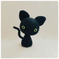 Download Minima Cat Amigurumi Pattern (FREE)