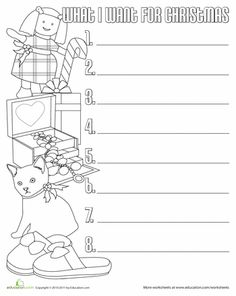 Christmas Descriptive Writing  Worksheets Writing prompts and