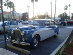 1961 Jaguar. (A friend posted this on my Facebook wall upon seeing it in Fort Lauderdale, Florida.)