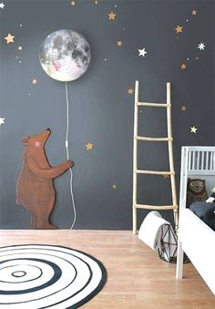 SHOP THE LOOK: Kids Room Decor Ideas to Inspire. We all know how difficult it is to decorate a kids bedroom. A special place for any type of kid, this Shop The Look will get you all the kid's bedroom decor ide Baby Boy Rooms, Baby Boy Nurseries, Baby Boy Bedroom Ideas, Baby Room Ideas For Boys, Room Baby, Toddler Rooms, Nursery Ideas Girls, Nursery Room Ideas, Kid Rooms