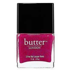 Butter 3 Free Nail Lacquer  #SephoraColorWash #sephora #cosmetics #makeup #beauty #style #trend #color sephora-color-wash