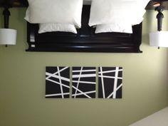 my DIY canvas paintings!