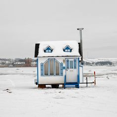 Photographer Documents the Diverse Designs of Canadian Ice Fishing Huts in Charming Photo Project