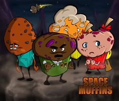 Space Muffins! by wolcik3000