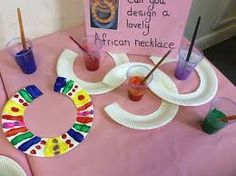 Trendy African Art For Kids Teaching Around The Worlds Multicultural Activities, Eyfs Activities, Nursery Activities, Preschool Activities, Africa Activities For Kids, Diversity Activities, Geography Activities, African Art For Kids, African Art Projects