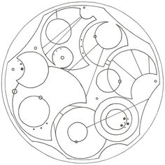 Not all who wander are lost - in Gallifreyan..... Lord of the Rings board or Doctor Who board??hmm hard choices...