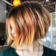 Pretty short bob hairstyle for an amazing looks 047