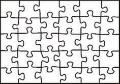 Puzzle Template Students Create A Piece To Be All Joined Together Later
