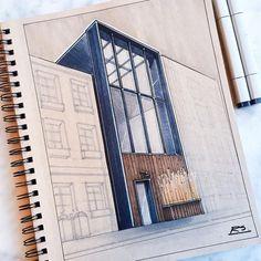 Architecture design, home architecture styles, architecture sketchbook, arc Sketchbook Architecture, Home Architecture Styles, Architecture Concept Drawings, Architecture Design, Architecture Diagrams, Architecture Presentation Board, Architectural Presentation, Presentation Boards, Sketches Arquitectura